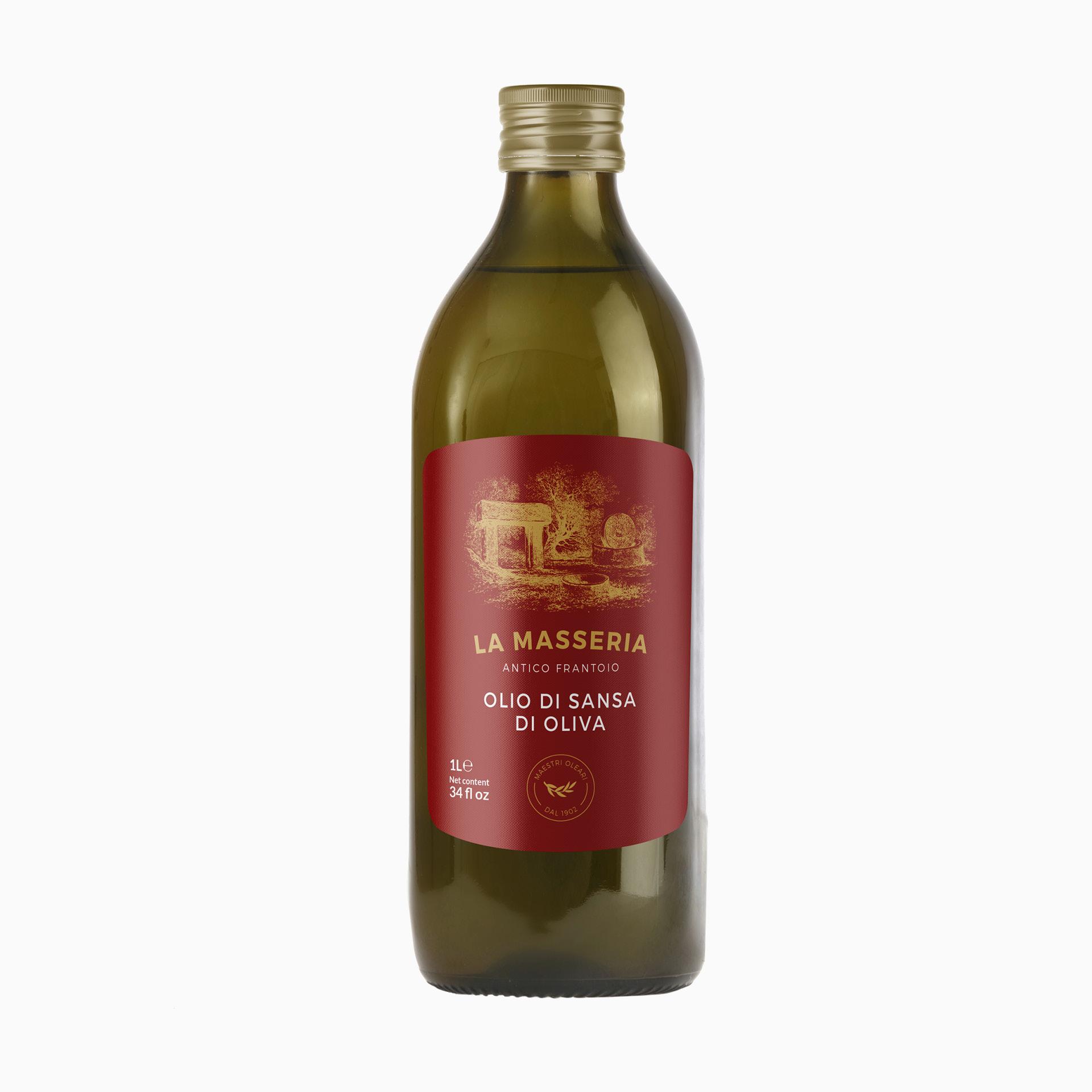 "Pomace Olive Oil ""La Masseria"""