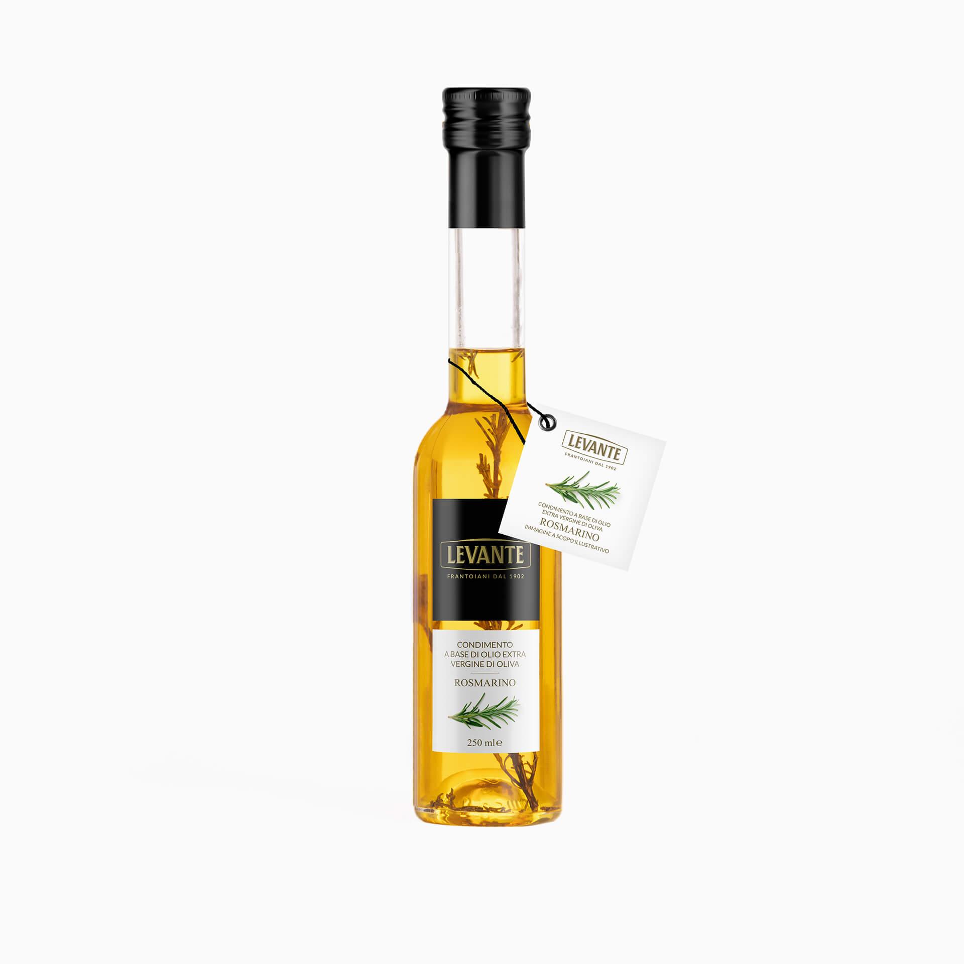 Condimento a base di Olio Extra Vergine d'Oliva al gusto di Rosmarino